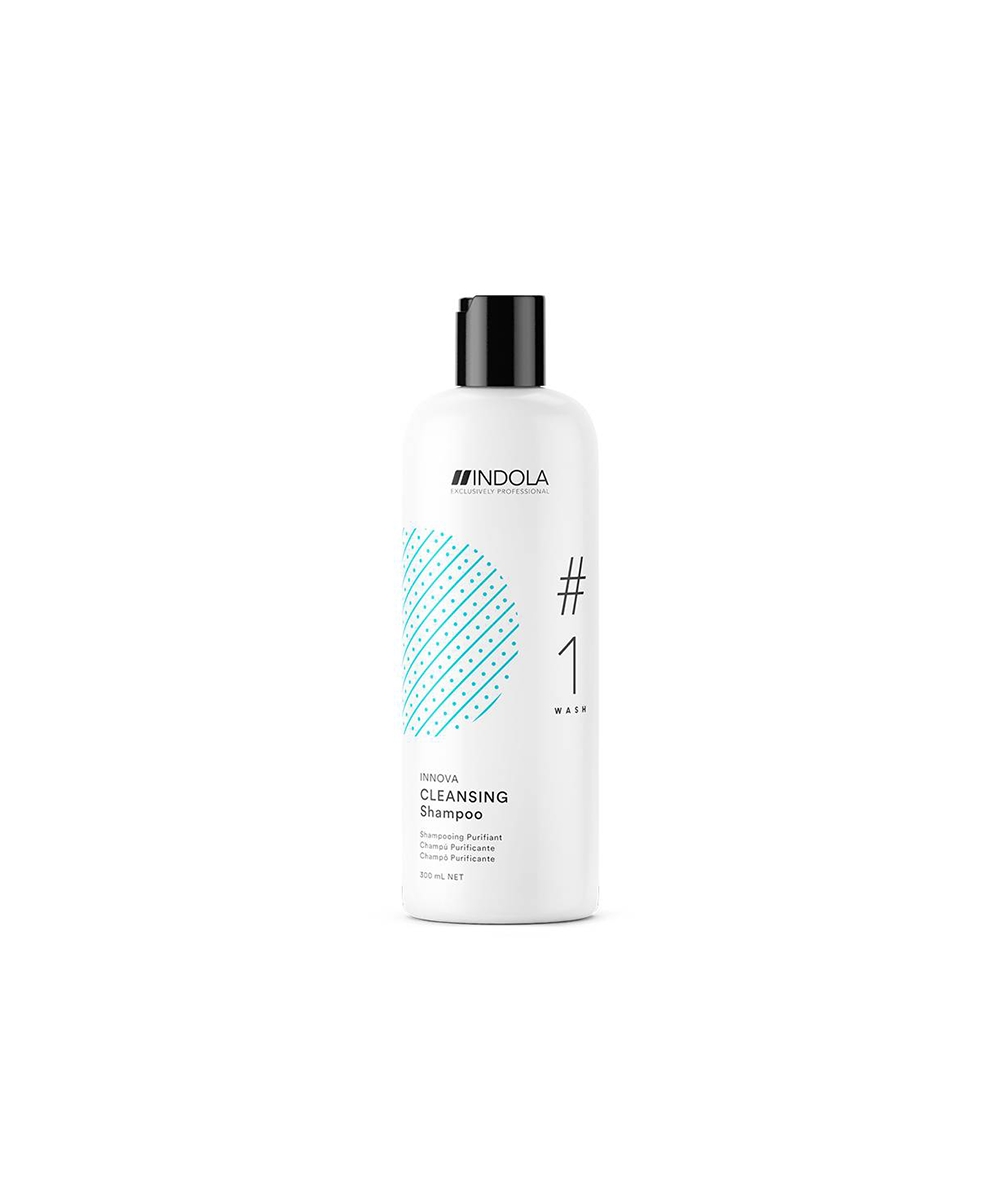 Indola - Cleansing Shampoo - Champô Purificante