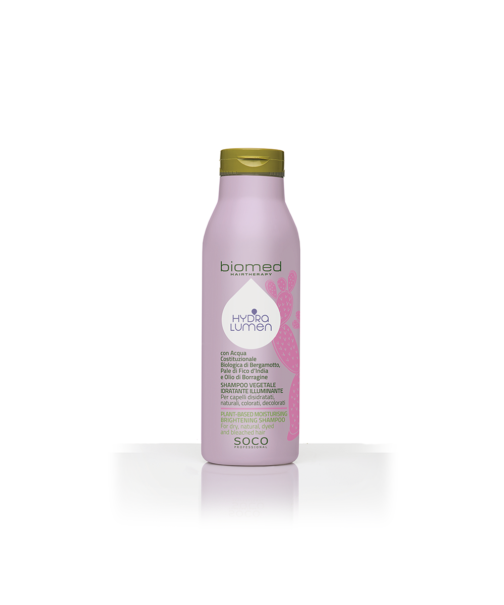 Biomed - Champô Hydra Lumen - Cuidado Após a Coloração