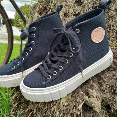 Ténis bota lona reciclada