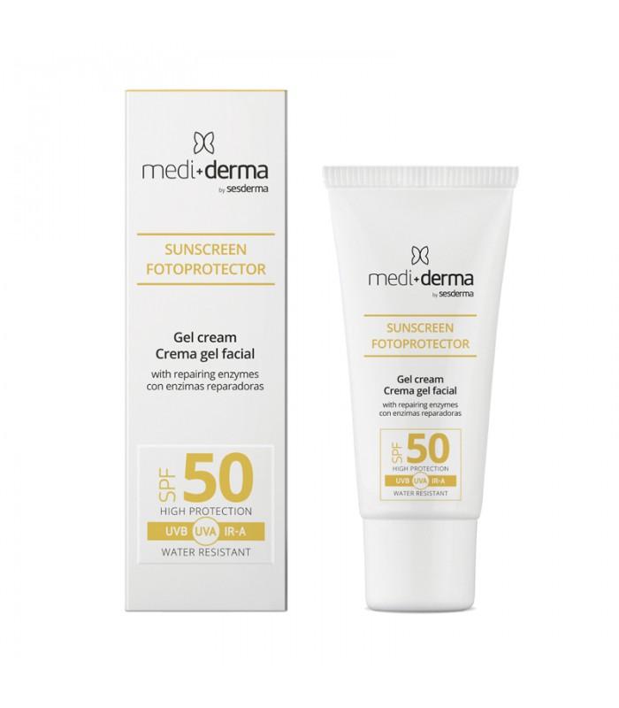 Protetor Solar Facial Creme Gel SPF50