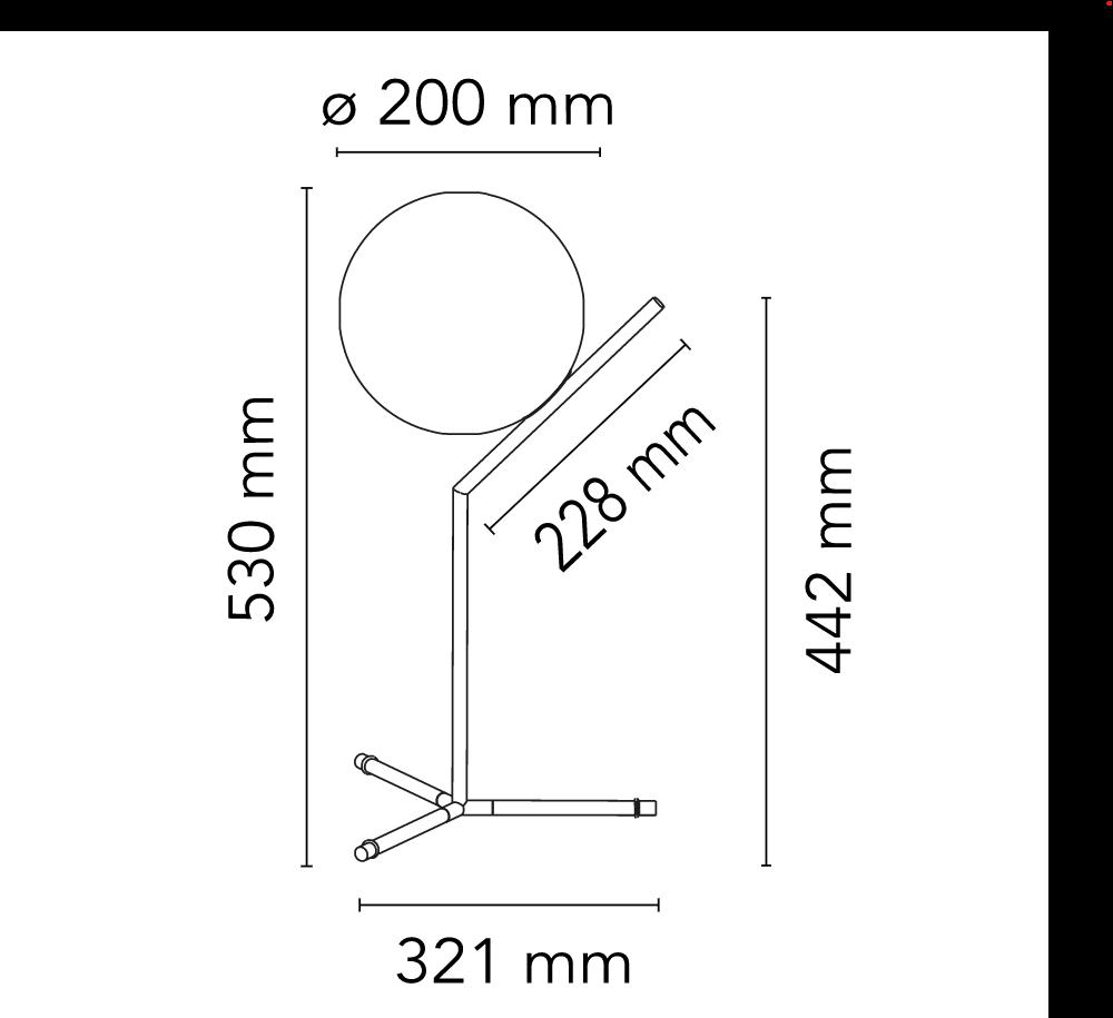 IC Table 1 High - Michael Anastassiades , 2014, flos