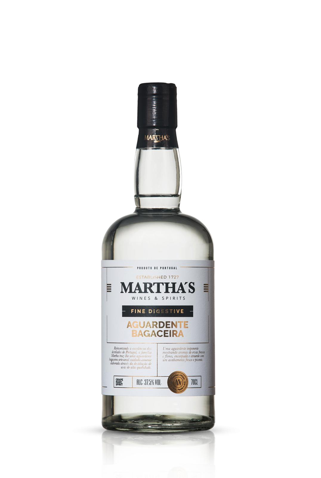 Martha's Aguardente Bagaceira