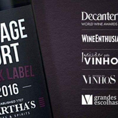 Martha's Black Label Vintage Port  2016