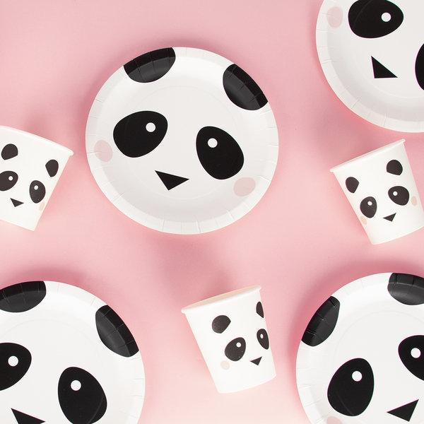 Copos Panda c/8 - My Little Love