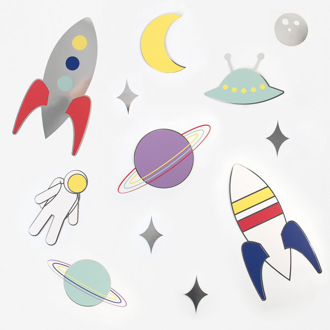 Decorações Espaço - My Little Day