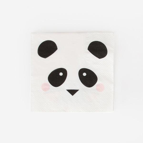 Guardanapos Panda c/20 - My Little Love