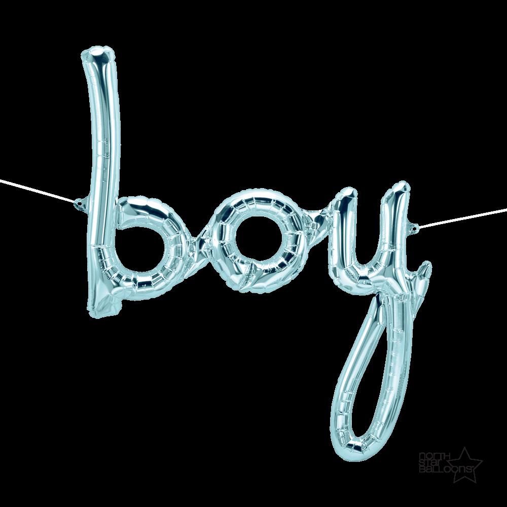 Balão Foil Boy 56cm x 69 cm - North Star