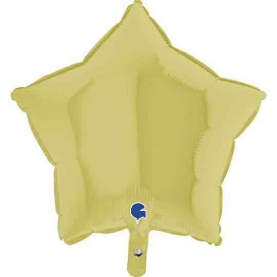 """Balão Estrela Mate 18""""-46cm- Grab"""