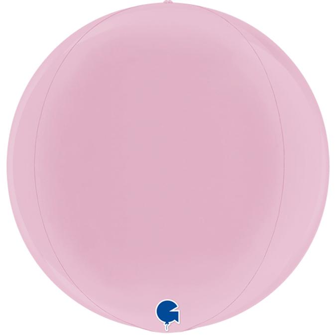 Balão Esfera Rosa Pastel 38 cm - Grabo