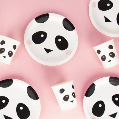 Pratos Panda 18cm - My Little Love