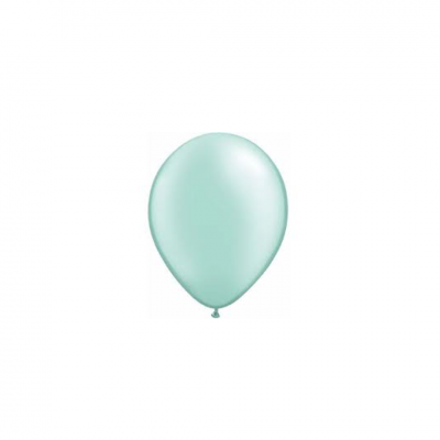 "Balão Pearl Mint Green 11"" latex - Qualatex"