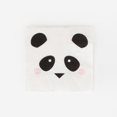 Guardanapos Panda c/20 - My Little Love