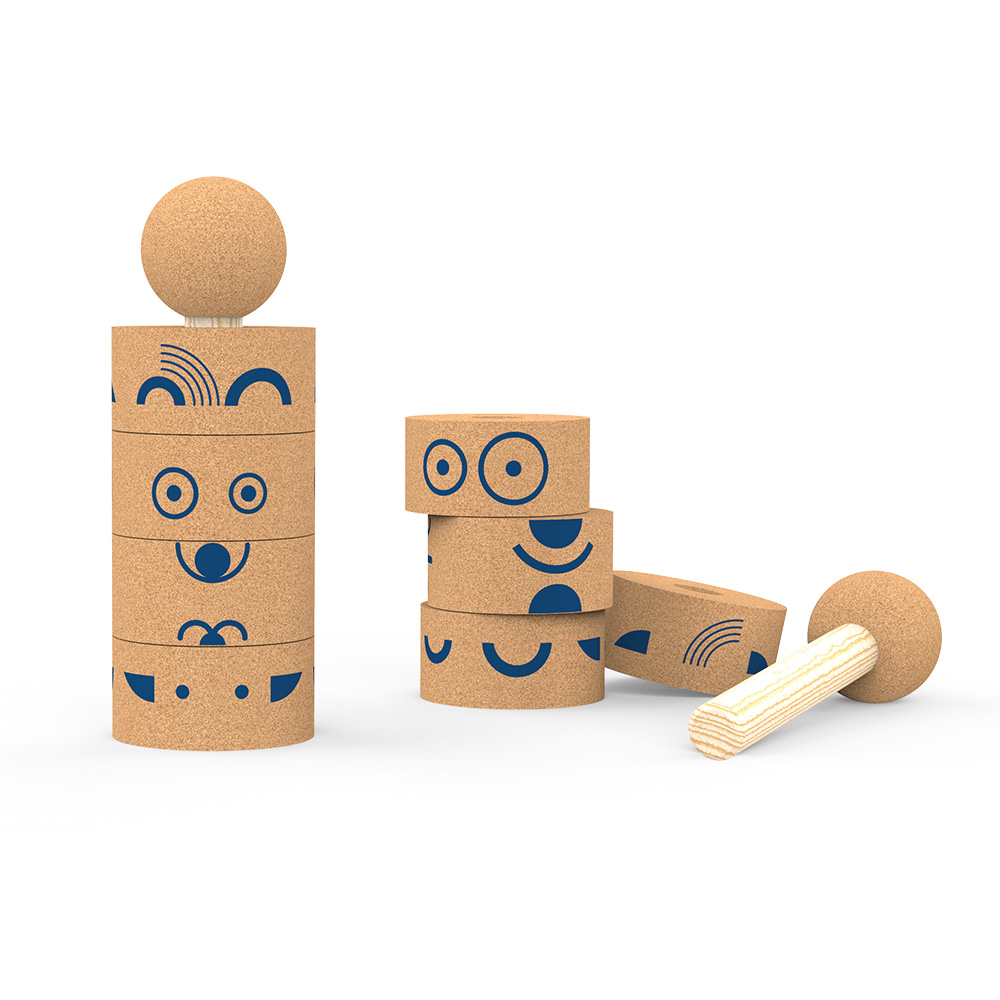 Totem Emo – Elou Cork Toys