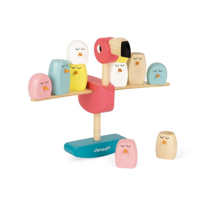Jogo de equilíbrio Flamingo zigolos Janod