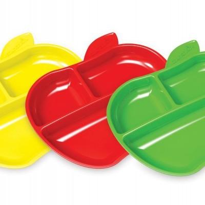 Munchkin 3x Pratos Lil Apple