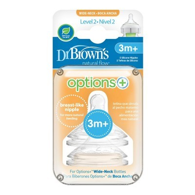 Tetinas Dr. Brown's Options - Pack 2x
