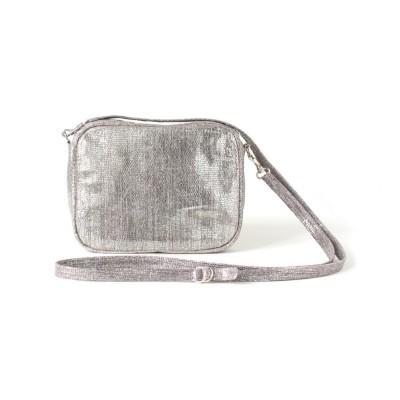 Silver Zip Bag