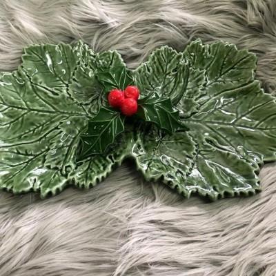 Prato aperitivos Natal