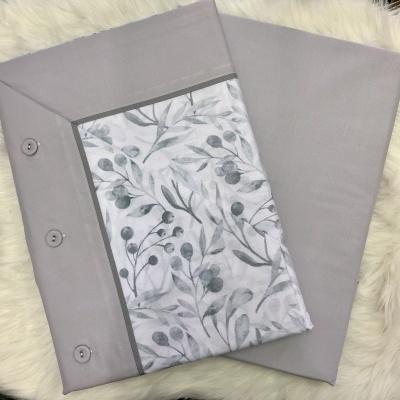 Jogo de cama algodão Ref Carolina King Size Especial com lençol ajustável