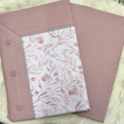 Jogo de cama algodão Ref Carolina com lençol ajustavel