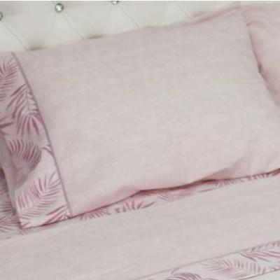 Lençóis de flanela cama de casal REF Tropical
