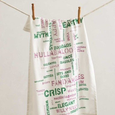 Wordsmith Tea Towel