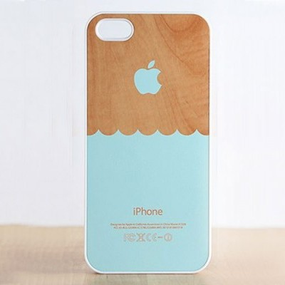 Wooden Waves iPhone Cases
