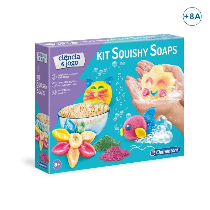 Kit Squishy Sabonetes