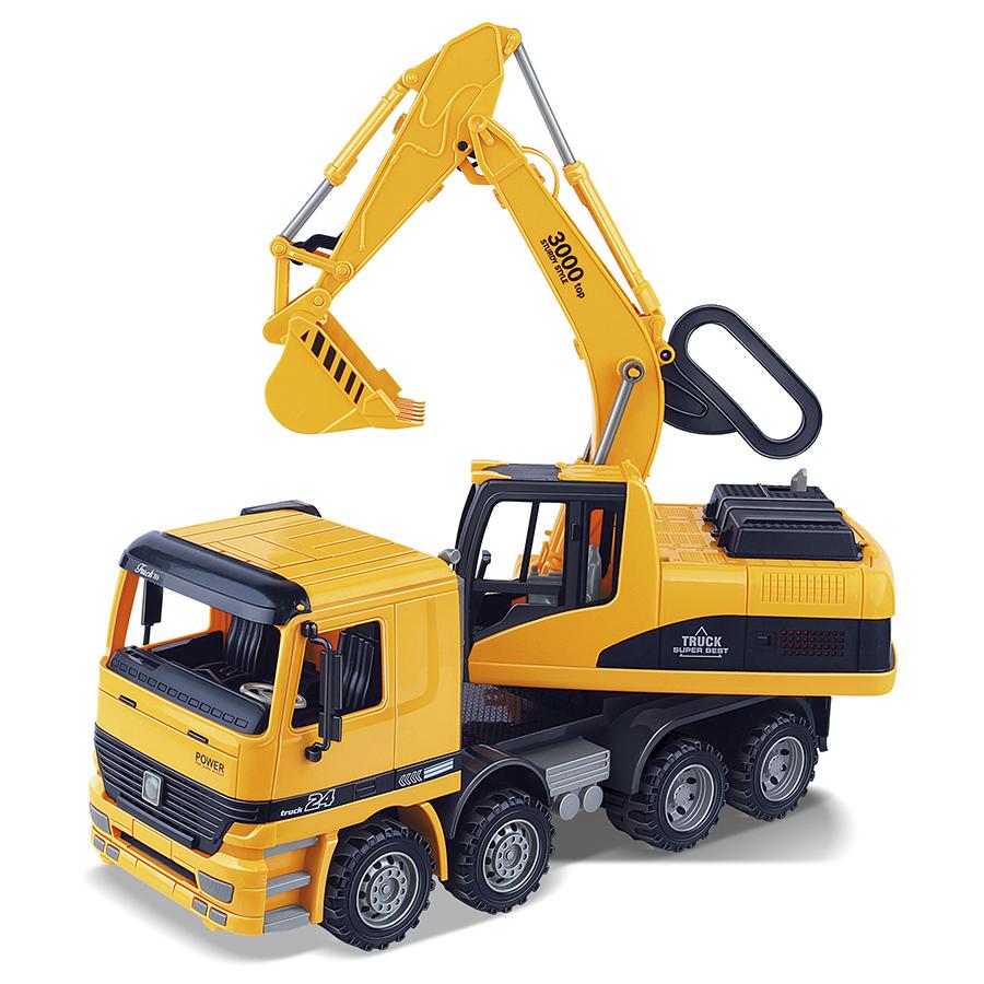 Camião Escavadora 1:10 City Truck