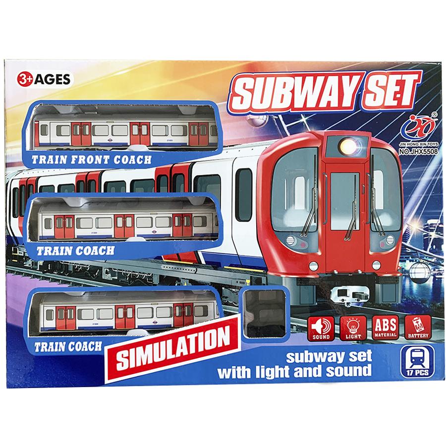 Pista Comboio Cidade Média