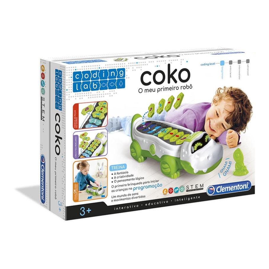Coko, o Meu Primeiro Robô