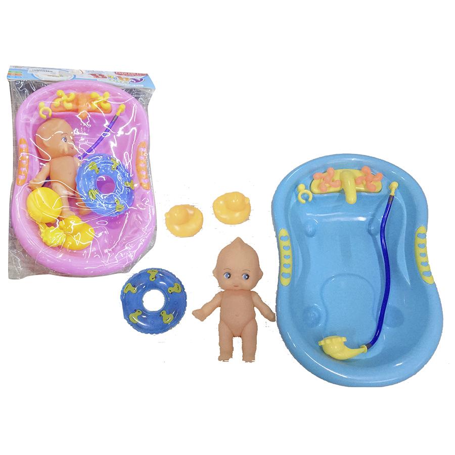 Banheira com Bebé + Acessórios
