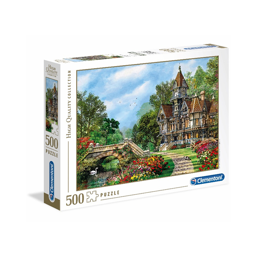 Puzzle 500 HQ Old Waterway Cottage