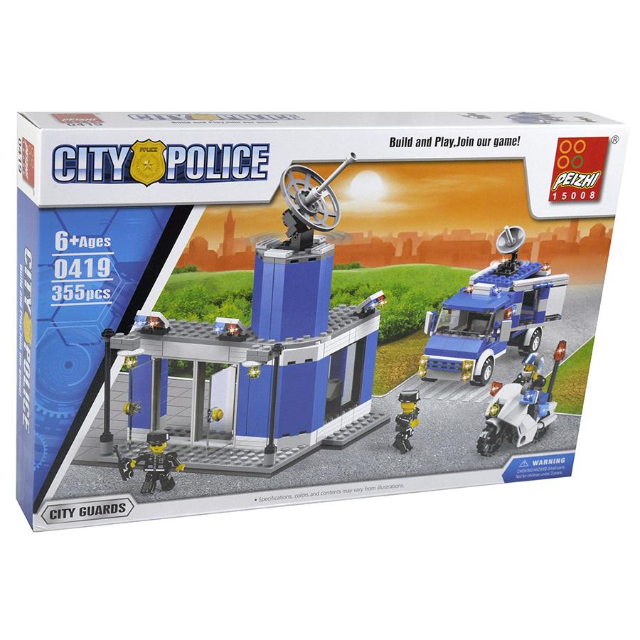 Cx. Contrução 355pçs Polícia