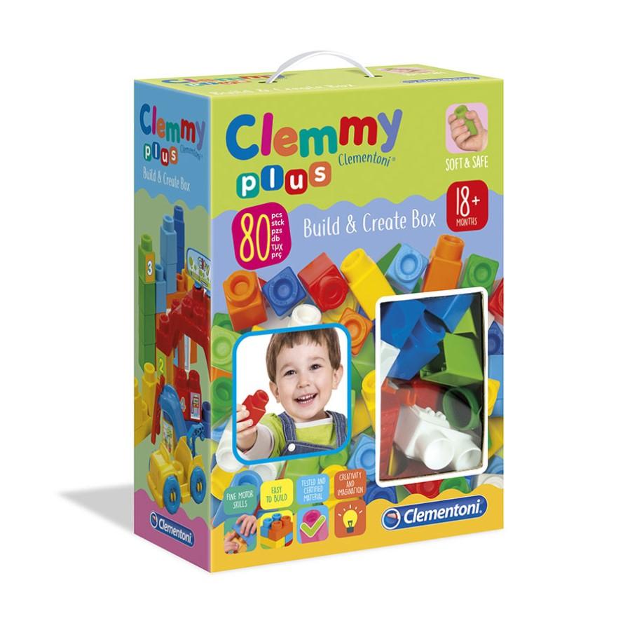 Clemmy plus cx. 80 peças