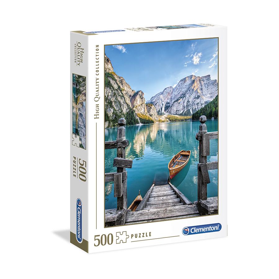 Puzzle 500 HQ Braies Lake