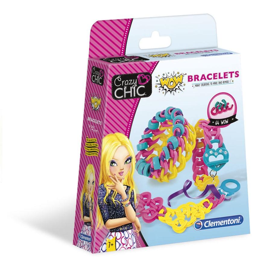 Crazy Chic Kit de Pulseiras WOW