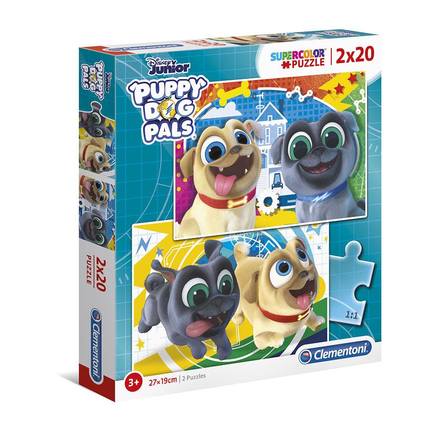 Puzzle Super 2x20 Bingo e Rolly