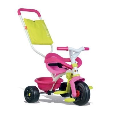 Triciclo BE FUN Confort Rosa 3 em 1