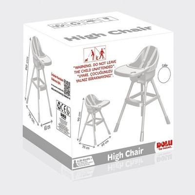 Cadeira Comer Alta Branca