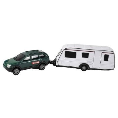TM Jipe com Caravana 1:32