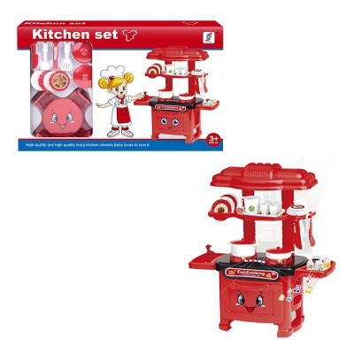 Cozinha Kitchen Set c/ Luz e Sol