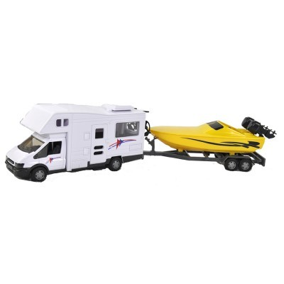 TM Autocaravana com Barco 1:48