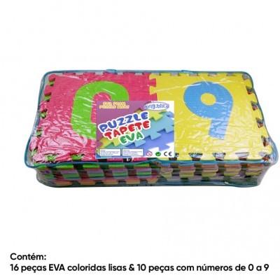 Saco c/ 26 peças EVA 30x30cm