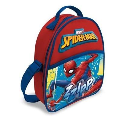 Spiderman Lancheira Térmica Mochila