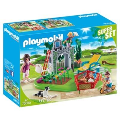 Playmobil SuperSet Familia no Jardim