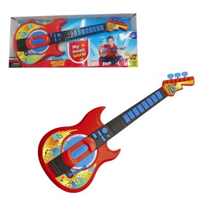 Guitarra Elétrica c/ Luz e Som