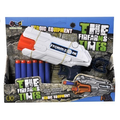 Stormzone pistola com 6 dardos média