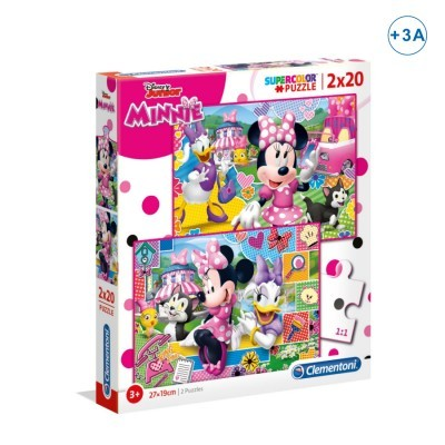 Puzzle Super 2x20 Minnie