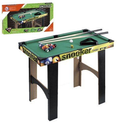 Snooker em Madeira 67x79x43,5cm